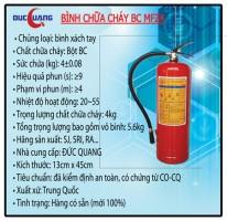 Bình chữa cháy BC MFZ4 - 4Kg