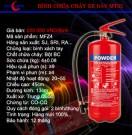 Bình chữa cháy bột ABC MFZL4 - 4Kg