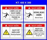 Mẫu biển cảnh báo an toàn điện