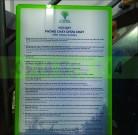 Bảng mica nội quy tiêu lệnh PCCC bằng Mica in UV