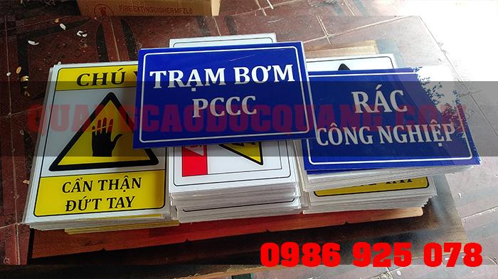 tram bom PCCC