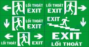 Biển báo chỉ lối thoát hiểm