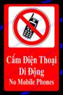 Biển báo cấm sử dụng điện thoại
